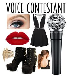 """THE VOICE OUTFIT"" by zombienation1111 ❤ liked on Polyvore featuring Boohoo, Kendra Scott, Capwell + Co, thevoice and YahooView"
