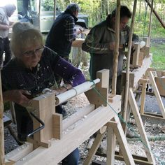 Build Your Own Pole Lathe and learn to use it