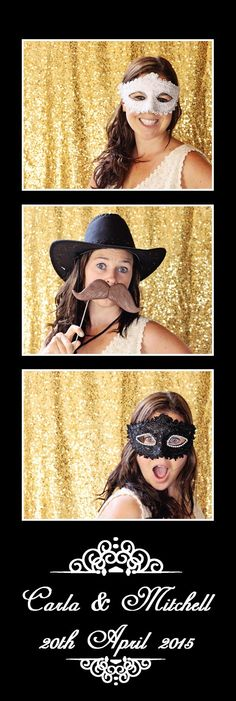 Photo booth strip template design customise Photo booth hire Queenstown NZ