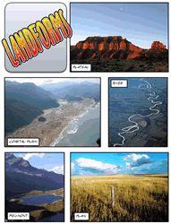 landform interactive lesson