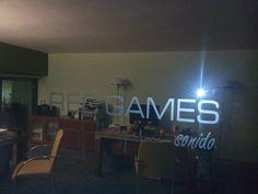 Rótulo de Rec Games Sonido.