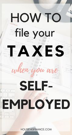 How To File Your Taxes When You Are Self-Employed - Business Management - Ideas of Business Management - Are you self-employed and have no idea where to even start when it comes to taxes? Check out this guide to filing your self-employment taxes! Small Business Bookkeeping, Small Business Tax, Business Tips, Successful Business, Business Goals, Family Business, Business Management, Money Management, Money Tips