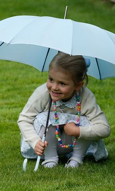 Sweden's Princess Estelle is extra cute for mom Princess Victoria's birthday July 14, 2015.