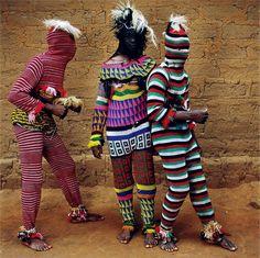 Ngar Ball Traditional Masquerade Dance, Eshinjok Village, Nigeria, 2004 Photography by Phyllis Galembo, courtesy of Aperture, 2016