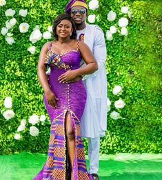 Couples African Outfits, African Wear Dresses, Latest African Fashion Dresses, African Traditional Wedding, African Traditional Dresses, African Inspired Fashion, African Print Fashion, Kente Dress, Ankara Skirt