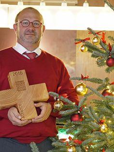 WAID-Wirt Thomas Hofstetter vorweihnachtlich.