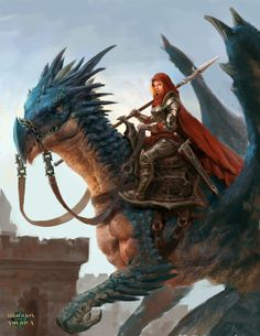 quarkmaster: Maria Isabel Calderon Commissioned for Dragons...