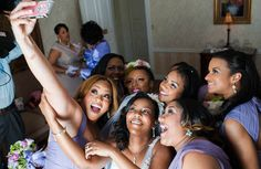 Awesome! Me and my bridesmaids were featured in the 2014 Essence Mag Bridal Bliss Awards for Best Selfie. Love Love Love!