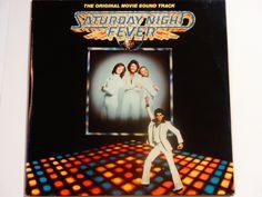 ANNIVERSARY SALE Saturday Night Fever - Original Movie Soundtrack - Bee Gees - John Travolta - RSO Records 1977 - Vintage Gatefold Vinyl 2Lp