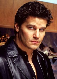 "David Boreanaz as Angel/Angelus/Liam in ""Angel"" and ""Buffy the Vampire Slayer"""