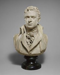 Robert Fulton (1765–1815) Artist: Jean Antoine Houdon (French, Versailles 1741–1828 Paris) Date: 1803–04 Culture: French, Paris Medium: Painted plaster.