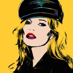 Kate Moss Pop Art by Avery Nejam #pa #popart