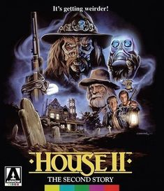 House II: The Second Story (Blu-ray, 2017) Arrow Video Special Edition *SEALED*
