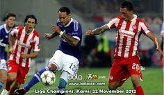 Prediksi Skor Schalke 04 vs Olympiakos Liga Champions 22 November 2012