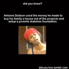 I had no idea!  But he is a funny guy.  (http://www.youtube.com/watch?v=hMtZfW2z9dw)