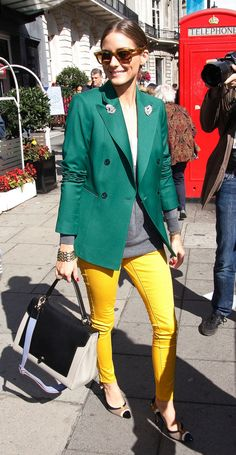 Olivia Palermo Leather Shoulder Bag
