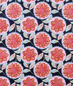 $17.60 Amy Butler Charisma Midnight Laminated Cotton Fabric