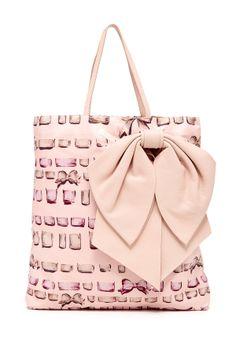 Valentino Print Shopping Bag