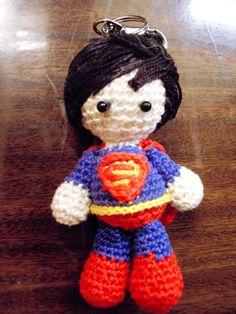 superman amigurumi (hair) - not by me