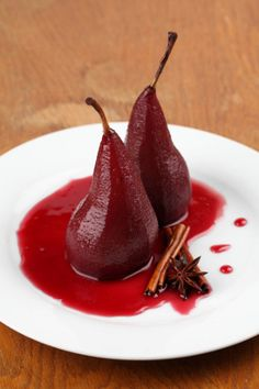 Pears in Red Wine Sauce | Free Pressure Cooker Recipe