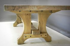 Pierre Cronje's collection of bespoke solid wood dining tables Timber Table, Solid Wood Dining Table, Rustic Table, Wooden Tables, Slab Table, Woodworking Basics, Woodworking Wood, Woodworking Projects, Youtube Woodworking