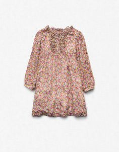 FLORAL PRINT DRESS - Dresses - Girl (2-14 years) - Kids - New collection - ZARA Canada