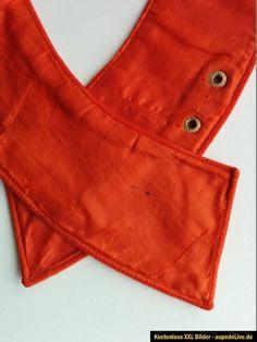 1.WK feiner Uniformkragen aus rotem Filzstoff mit Seidenfutter f.d. Bunten Rock? | eBay