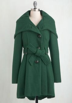 Once Upon a Thyme Coat, #ModCloth