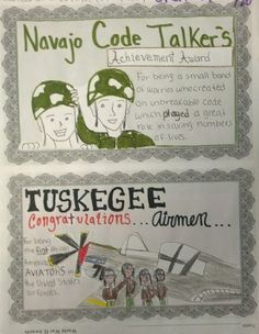 Students of History: World War II Service Plaques for Navajo Code Talkers, Tuskegee Airmen, Rosie the Riveter, & Nisei Soldiers