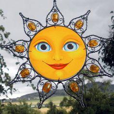 Sluníčko s jantarovými paprsky