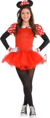 Teen Girls Dancing Minnie Mouse Costume
