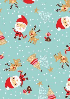 Christmas Pattern   Inga Wilmink