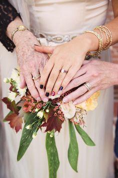Three beautiful generations: http://www.stylemepretty.com/missouri-weddings/2015/03/25/rustic-chic-big-cedar-lodge-wedding/ | Photography: Turner Creative - http://turnercreative.net/