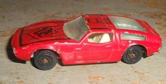 Vintage Toys Yatming Maserati Bora Red by TheBackShak on Etsy