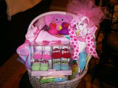 Baby Shower Basket of Goodies