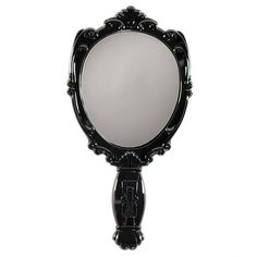This small hand mirror mimics the shape of the face and has a beautiful black lacquered frame. Finished with a delicate rose on the back. It comes with a velvet Anna Sui bag to protect it on the go. Best Beauty Tips, Beauty Hacks, Anna Sui Bags, Swatch, Beauty Regime, Color Your Hair, Puffy Eyes, Decoration Design, How To Apply Makeup