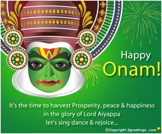 Greetings - Onam Card