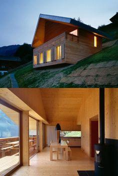 Mountain Hut by Geninasca Delefortrie  (via SUBTILITAS)