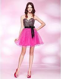 Resultado de imagem para roupas de 15 anos preto e rosa