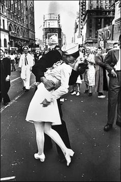 It looks like the Doctor was around for the WWII victory celebration.  This is one of my favorite pictures ever. Must reenact.
