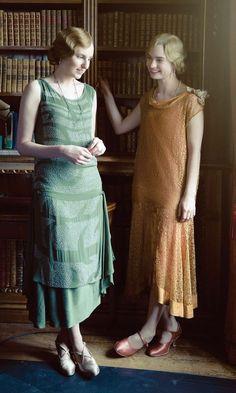 Lady Edith Crawley & Lady Rose McClare