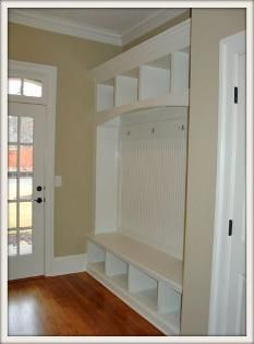 mudroom cubby with bench | Mudroom Lockers| Mudroom Benches| Mudroom Cabinets Raleigh Wake Forest ...
