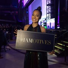 La La Anthony spoke at MAIC 2016 to tell us all how she feels powerful with Motives®.