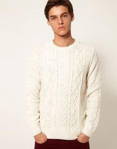 I've gotta stop buying these creamy boy's sweaters. FYI: Asos is giving an extra 30% off with promo code: CYBERMONDAYSPECIAL ! $49