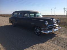 '54 Pontiac Chieftain Station Wagon