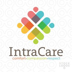 IntraCare community services logo by Nancy Carter Design