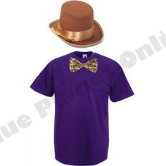 Childrens kids boys #willy wonka chocolate #factory fancy #dress costume book wee, View more on the LINK: http://www.zeppy.io/product/gb/2/131855673272/