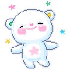 kawaii transparent bear clipart cute bear