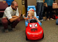 Power Wheels Offer Lift For Kids With Special Needs
