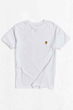 Embroidered Pizza Tee - Urban Outfitters